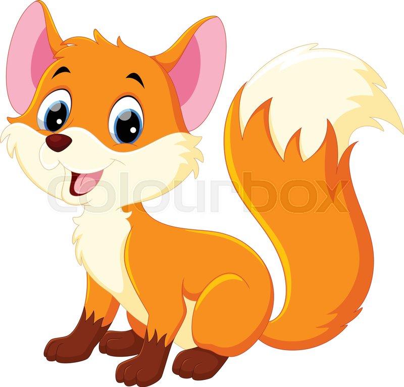 Valiant Vulpine | Moira Neagle's Word Addiction  |Vector Cute Baby Fox