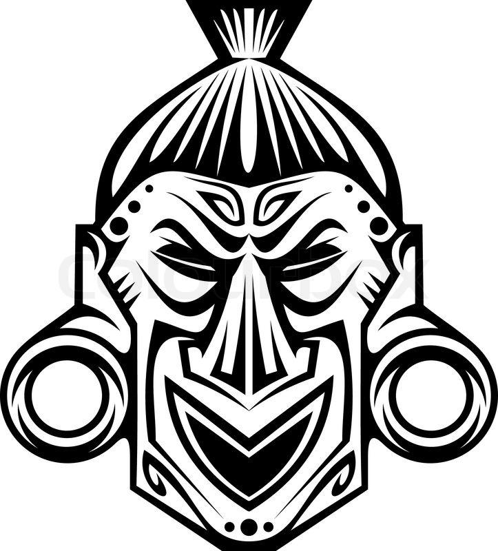 Gemütlich Afrikanische Maske Färbung Seite Fotos - Druckbare ...