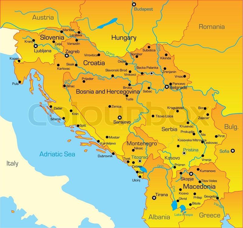 Balkan kort
