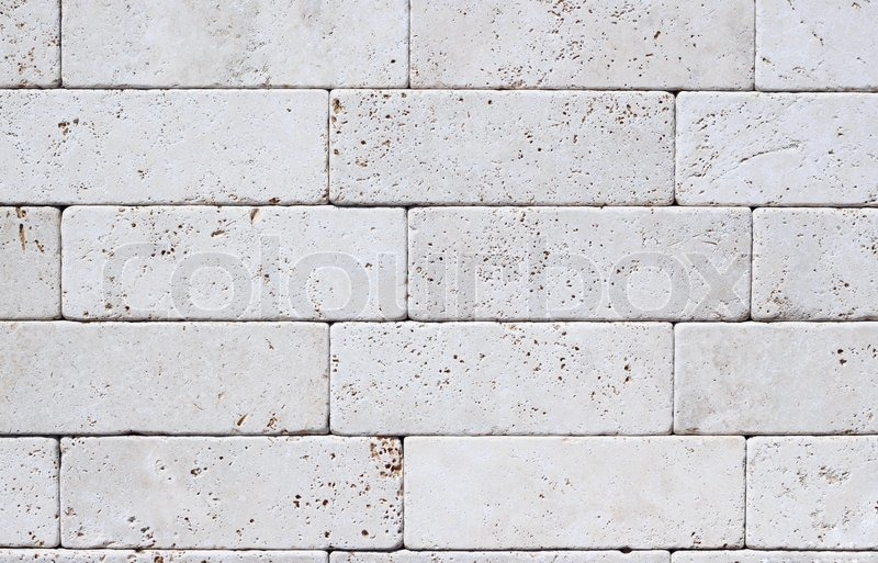 Laying Natural Stone : The sample of modern laying from a natural color stone