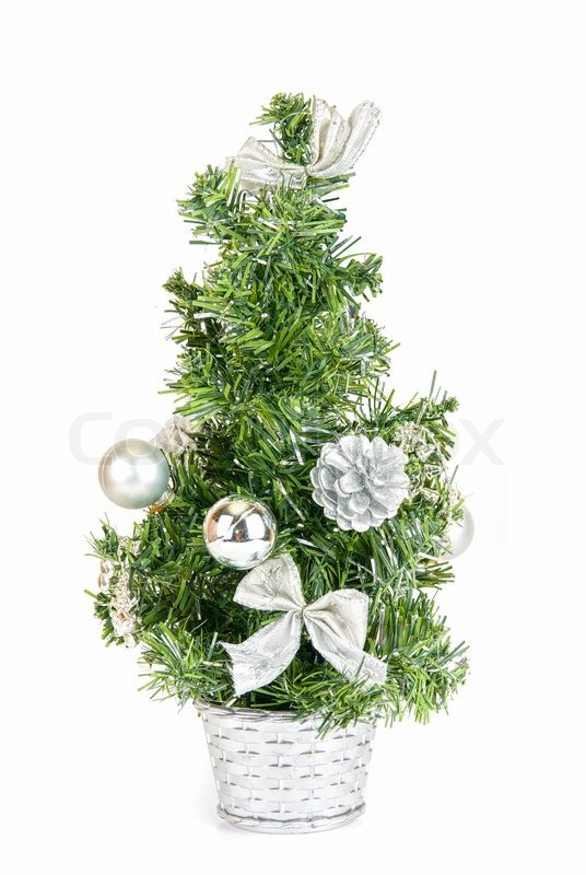 Bild Tannenbaum.Weihnachten Tannenbaum Isoliert Auf Stock Bild Colourbox