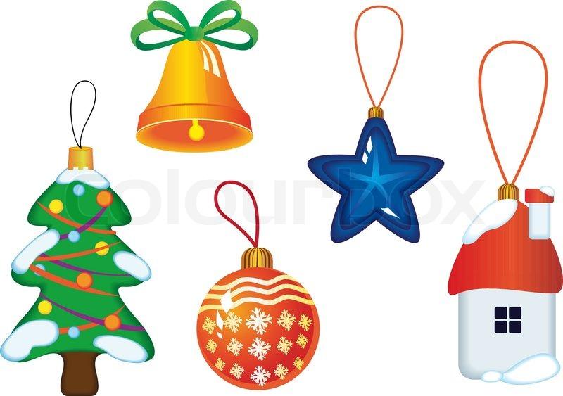 weihnachts icons und symbole f r design isoliert auf wei. Black Bedroom Furniture Sets. Home Design Ideas