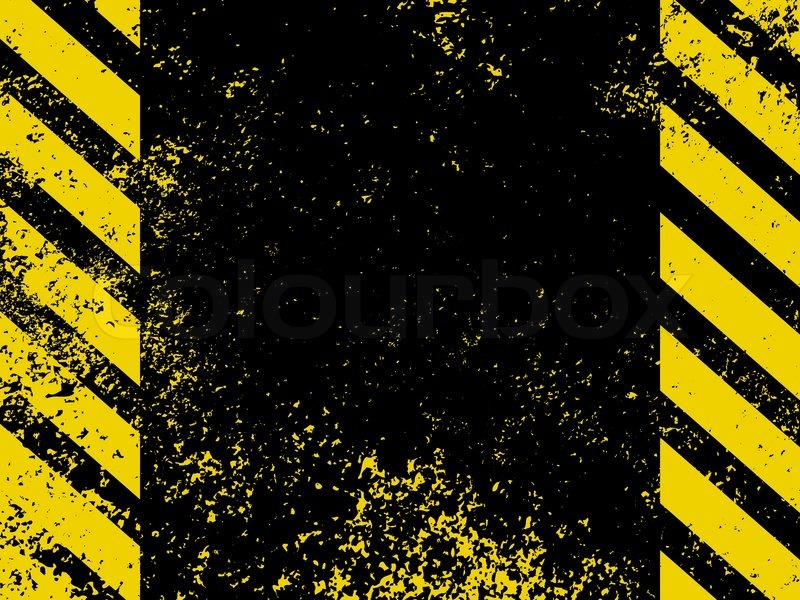 a grungy and worn hazard stripes texture eps 8 vector Yellow Caution Tape Vector Yellow Caution Tape Vector