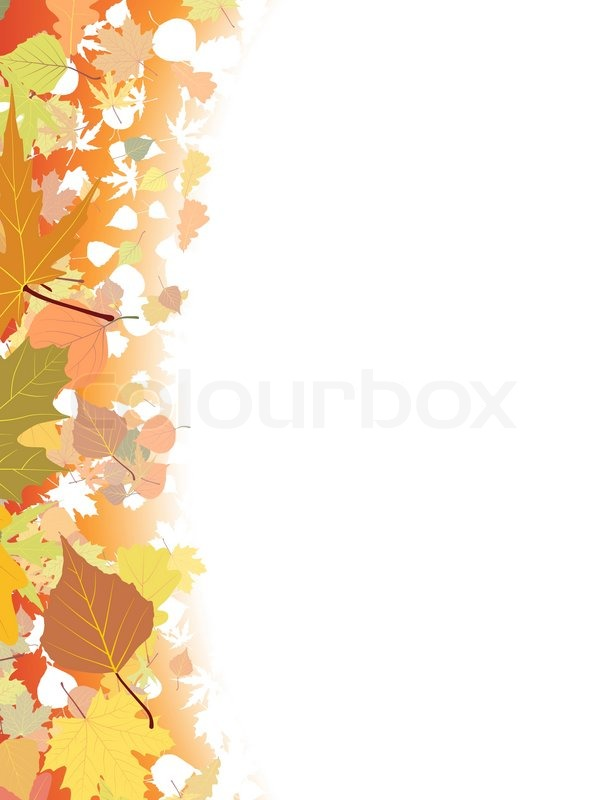 autumn background template  eps 8