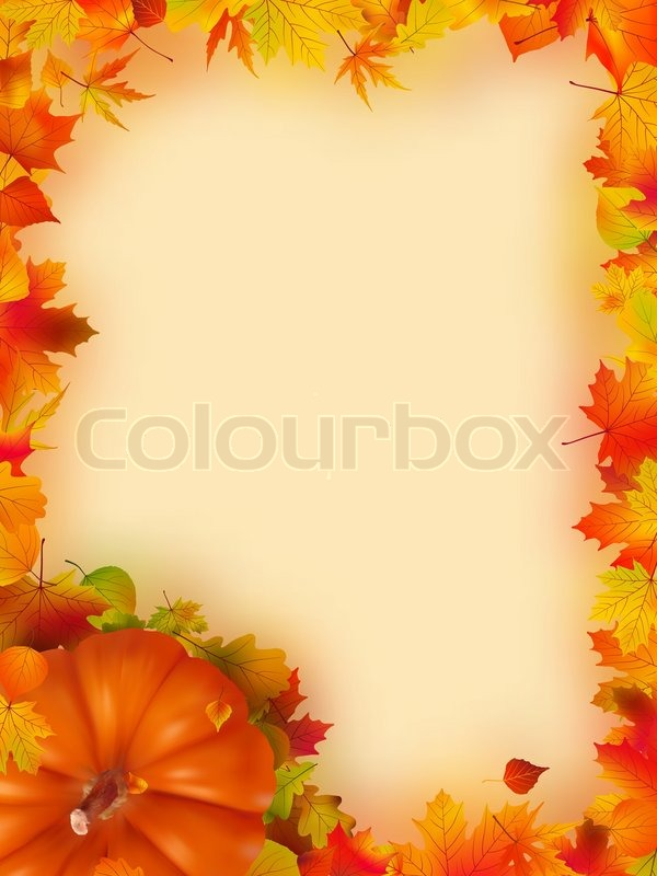 Thanksgiving Holiday Borders For Word Documents Thanksgiving holiday ...