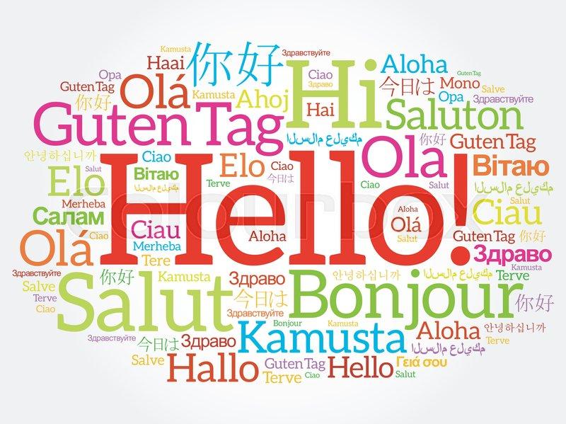 A description of how different languages separates a different world