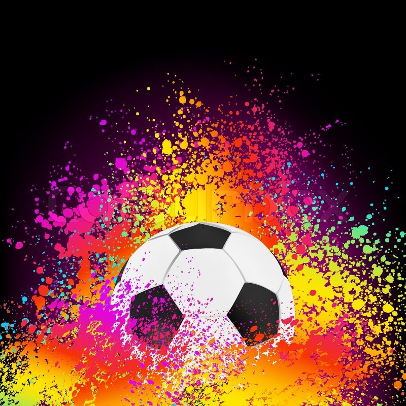 Colorful Abstract Background With A ...