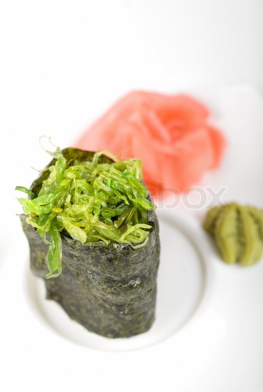 how to use seaweed for sushi