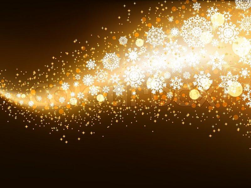 Elegant Christmas Background With Snowflakes Stock Vector: Elegant Christmas Hintergrund Mit ...