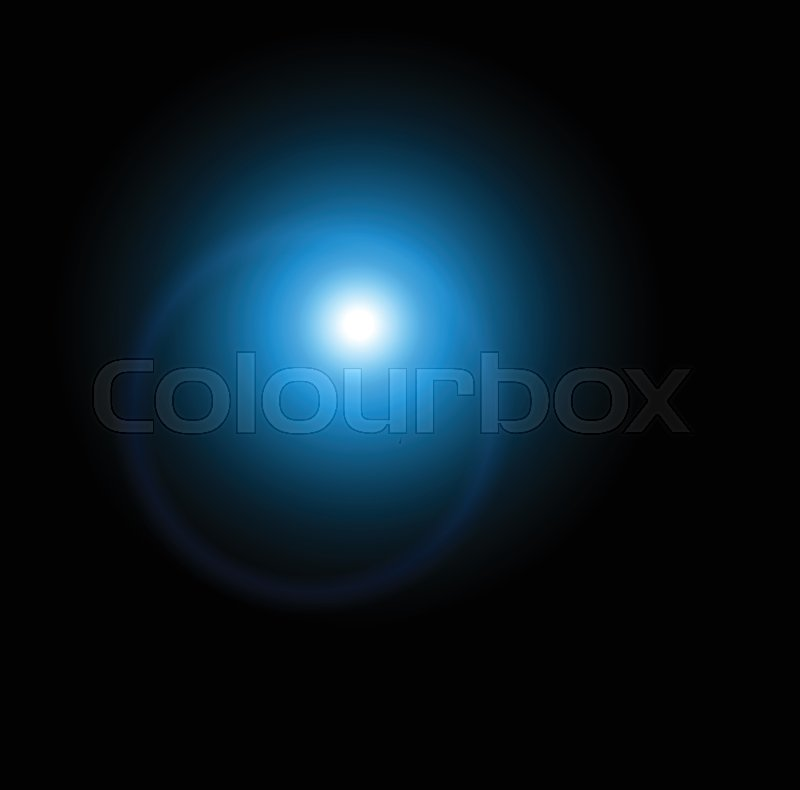 Stock Vector Of Sun Flash With Rays And Spotlight Light Effect