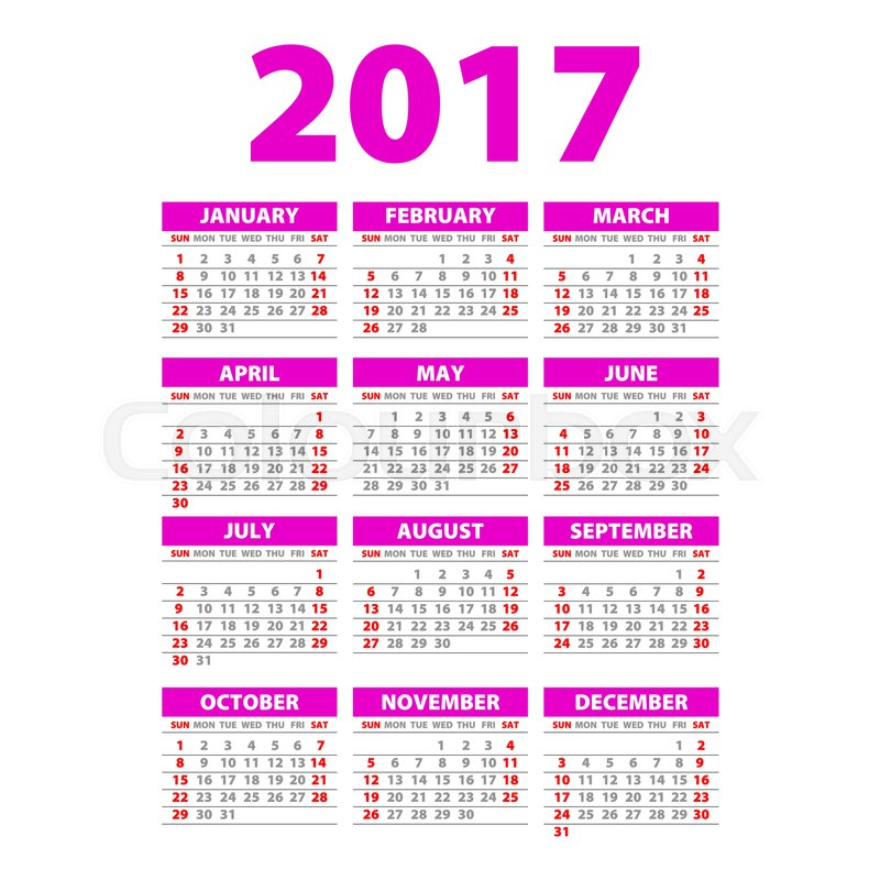 Year Wall Planner Plan Out Your Whole Year With This 2017 Wall Year