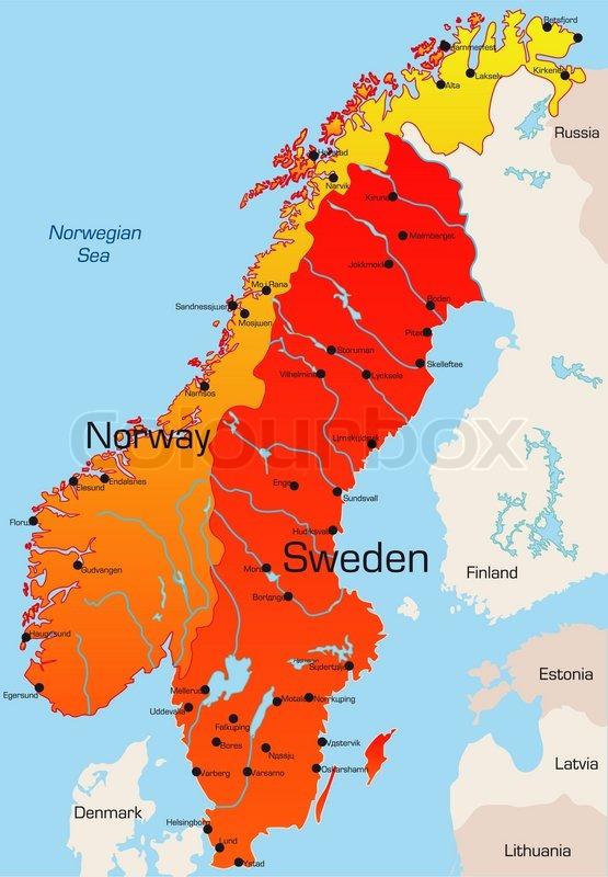 Kort Over Danmark Og Sverige Bexdyie