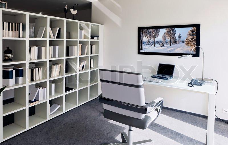 Moderne Büroeinrichtung Zuhause