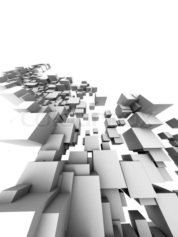 Stock Bild Von U00273D Architektur  Design Auf Weißem Hintergrundu0027