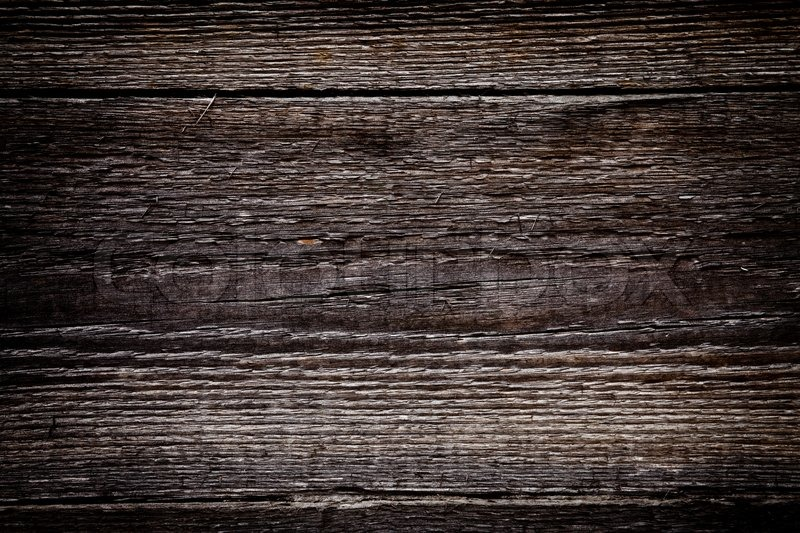 Old Stained Board A Dark Background Stock Photo Colourbox