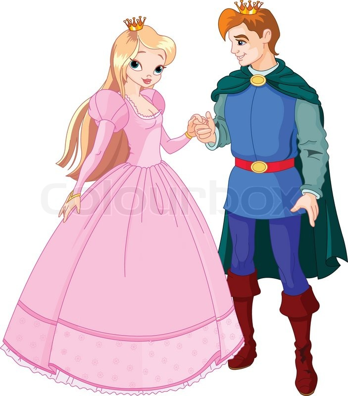 Prince and Princess Clip Art