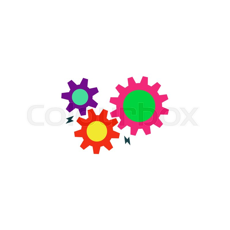 Settings Icon Vector  Flat simple     | Stock vector | Colourbox