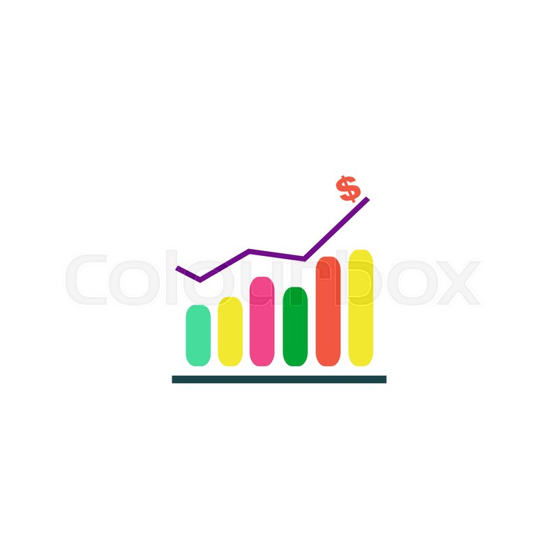 Diagram icon vector flat simple color pictogram stock vector diagram icon vector flat simple color pictogram vector ccuart Image collections