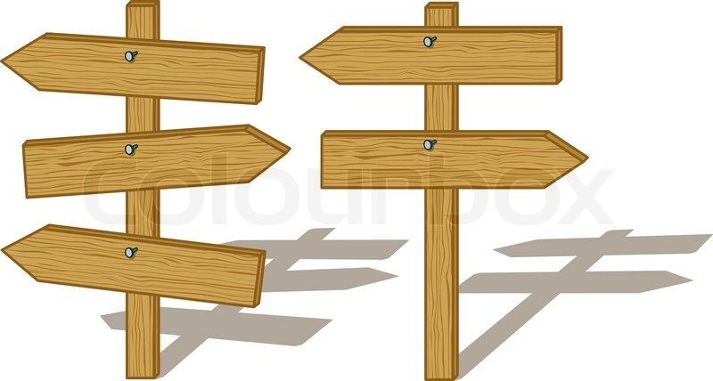 Wood Board Sign