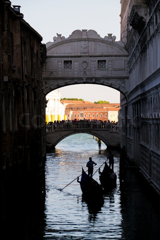 Stock image of 'Bridge pf Sighs ,In A beautifull afternoon,with the sunlight'