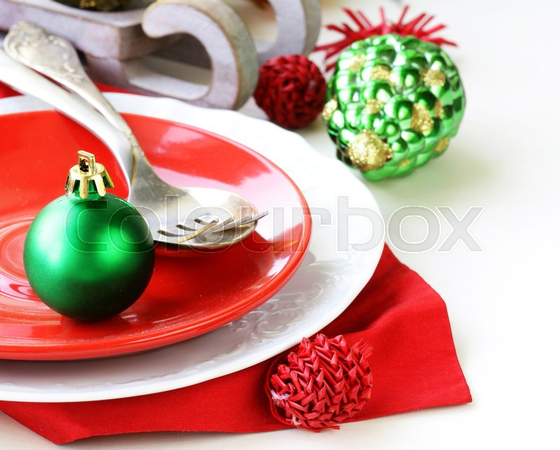 Stock image of 'Christmas decoration toys, gifts and ornaments'