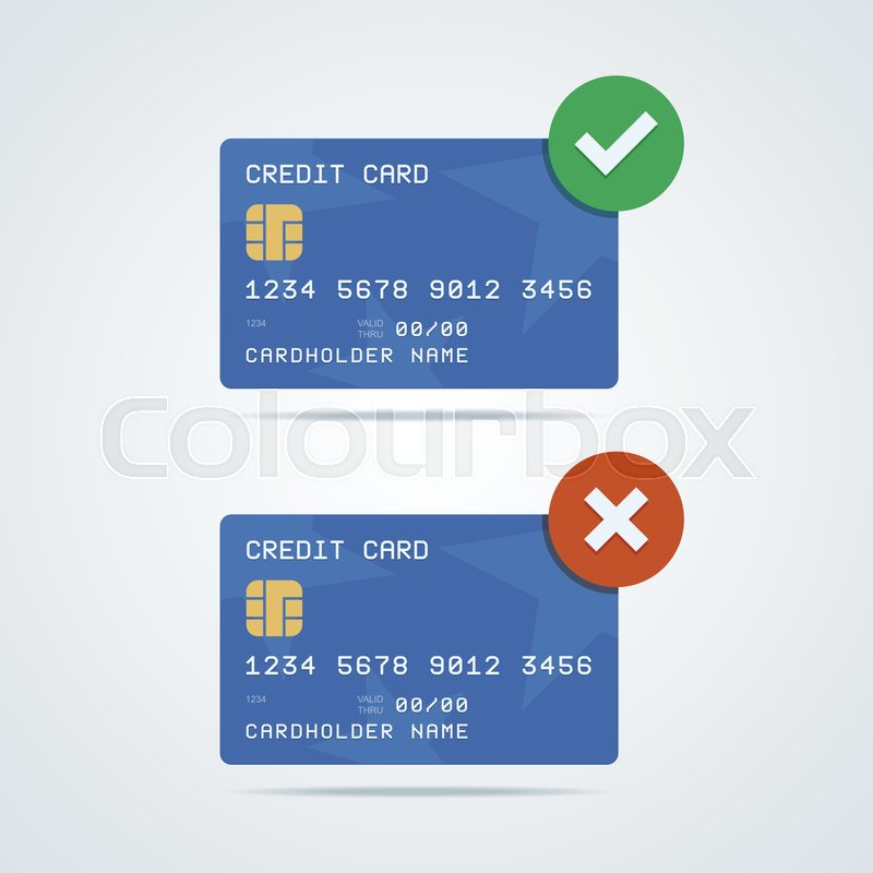 Credit, Debit Card With Chip, Number, Cardholder Name And
