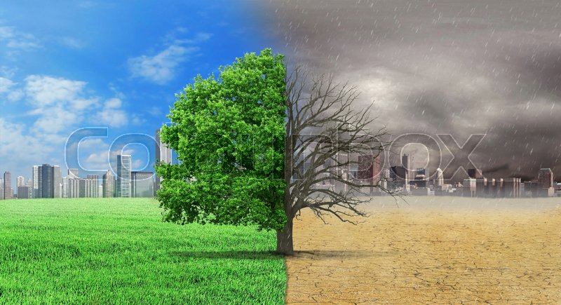 The concept of climate has changed stock image - A live nature wallpaper ...