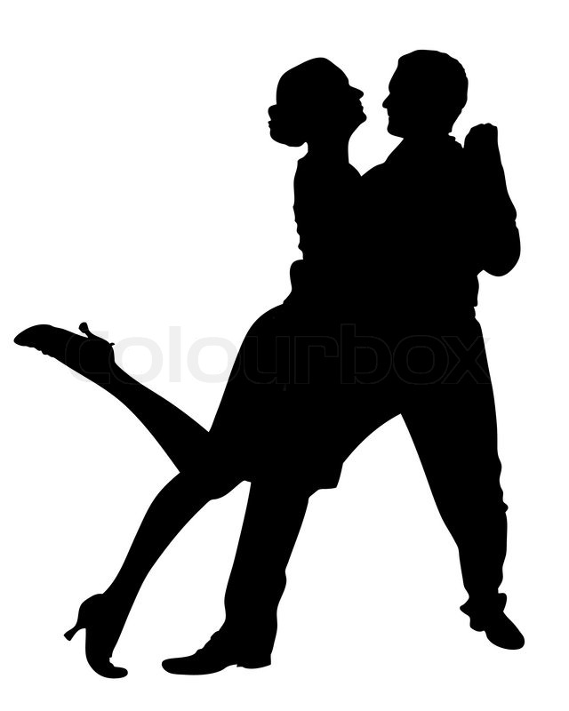 vector illustration of a couple dancing stock vector colourbox rh colourbox com dancing vector png dancing vector images