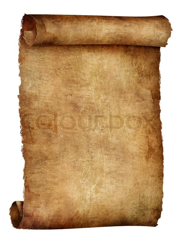 scroll of old paper texture background computer graphics stock