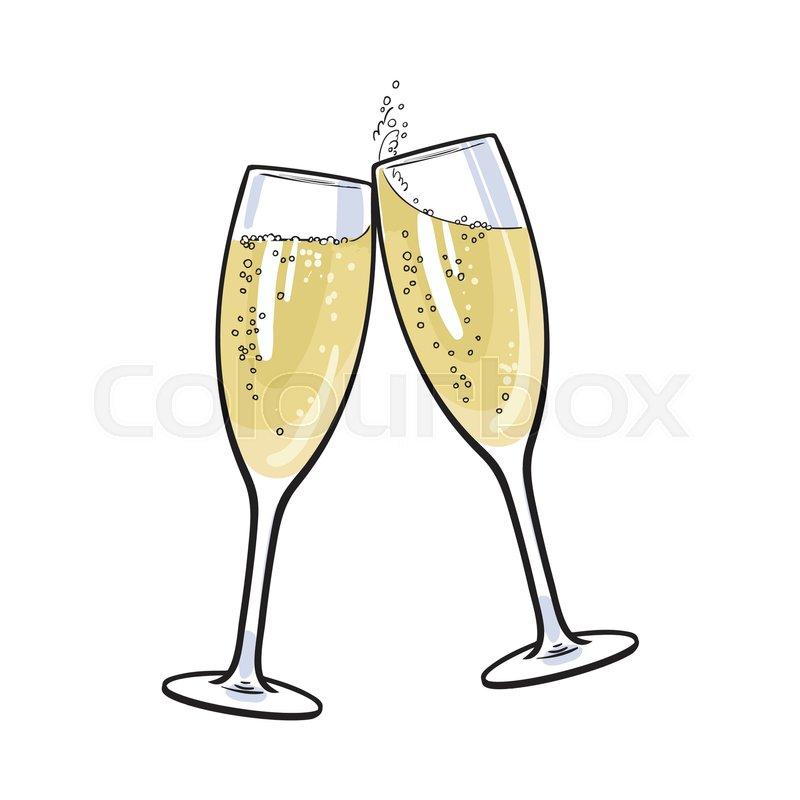 pair of champagne glasses  set of sketch style vector margarita clip art free margarita clip art funnies
