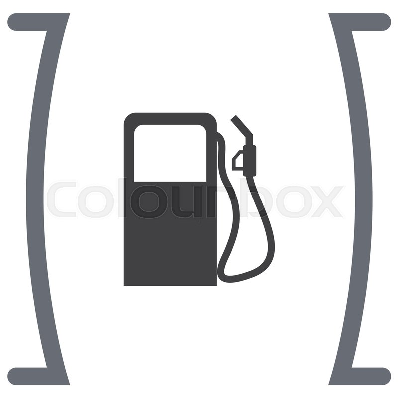 Gas Station Vector Icon Pump Sign Petrol Fuel Symbol Stock