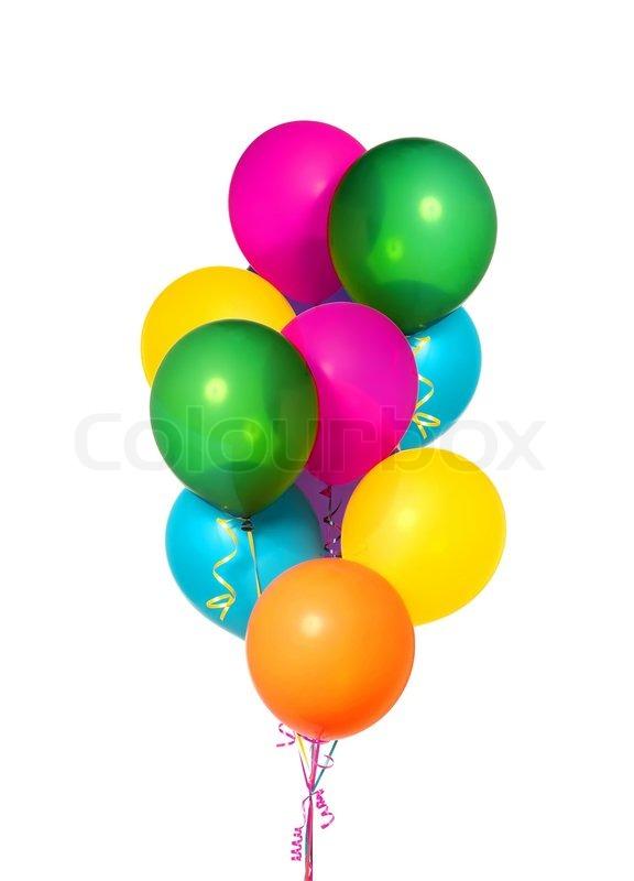 balloons white background - photo #8