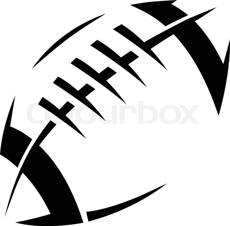 american football logo vector icon stock vector colourbox american football clipart images american football clipart images