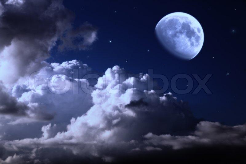 Ночь луна фото 2