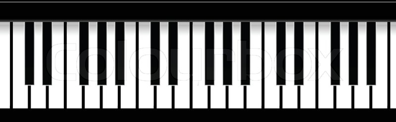 Simple Piano Claps Vector