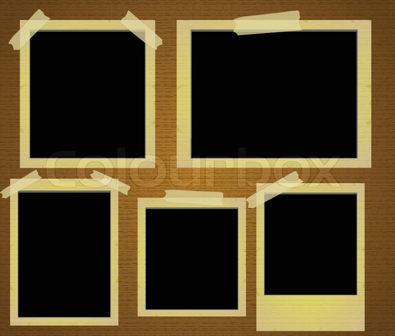 old photo frames vector vector