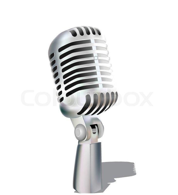 Retro Microphone Isola...