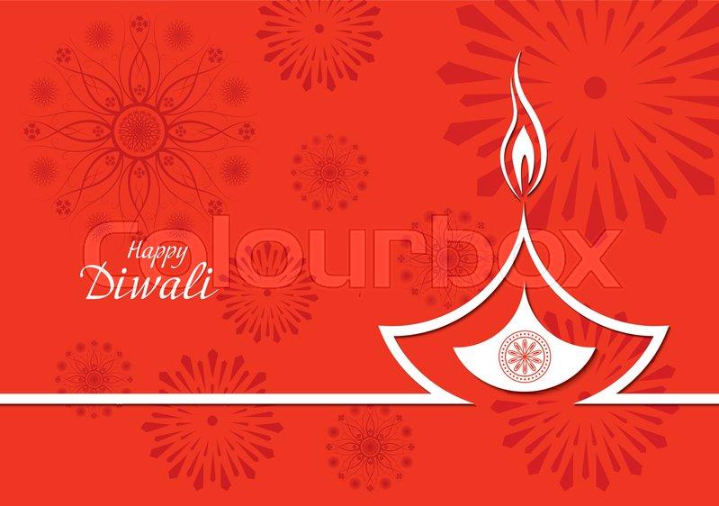 Creative vector design of burning diwali diya for greeting card creative vector design of burning diwali diya for greeting card stock vector colourbox m4hsunfo