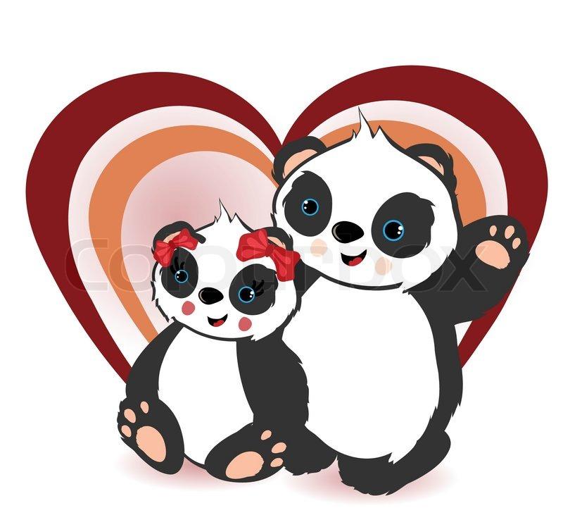 clipart panda female - photo #17