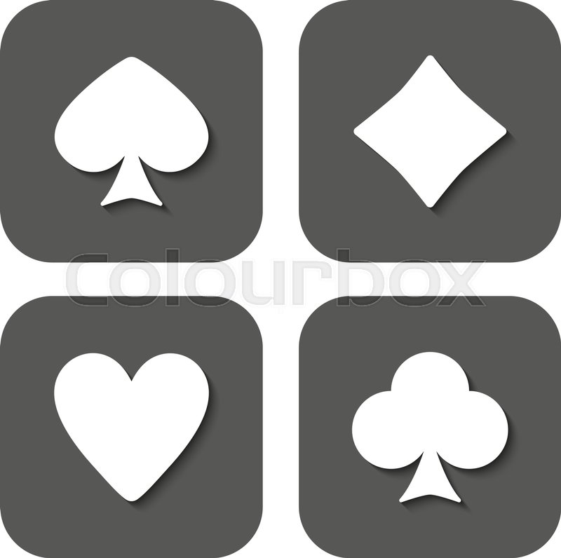 The Playing Card Suit icon. Playing