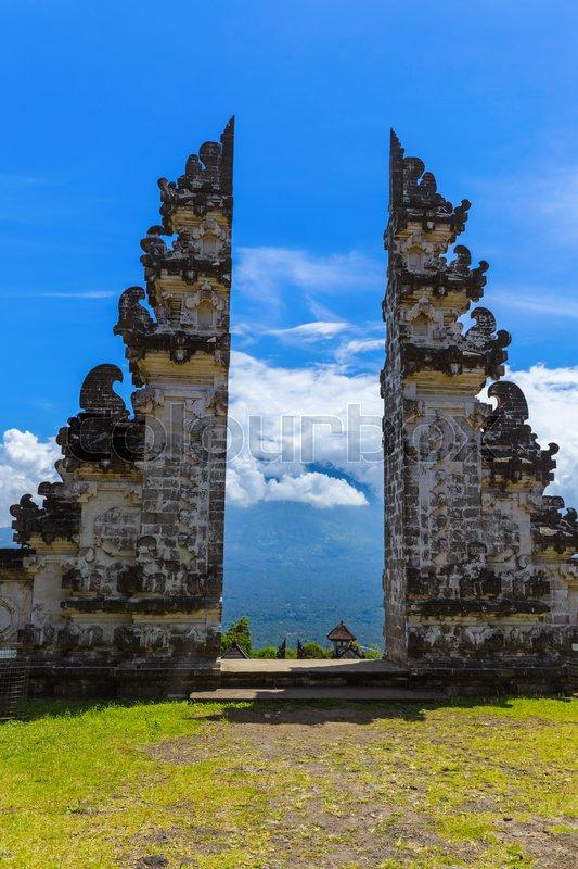 Lempuyang temple - Bali Island ...   Stock Photo   Colourbox