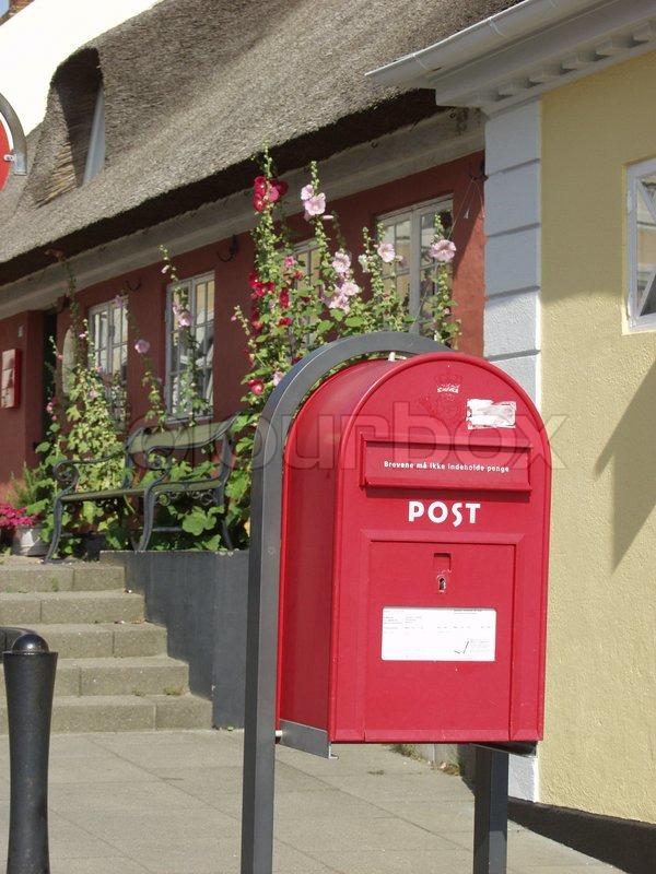 Blomster bonderoser brev breve bygninger danmark fanø feriekort kort nordby post post danmark ...