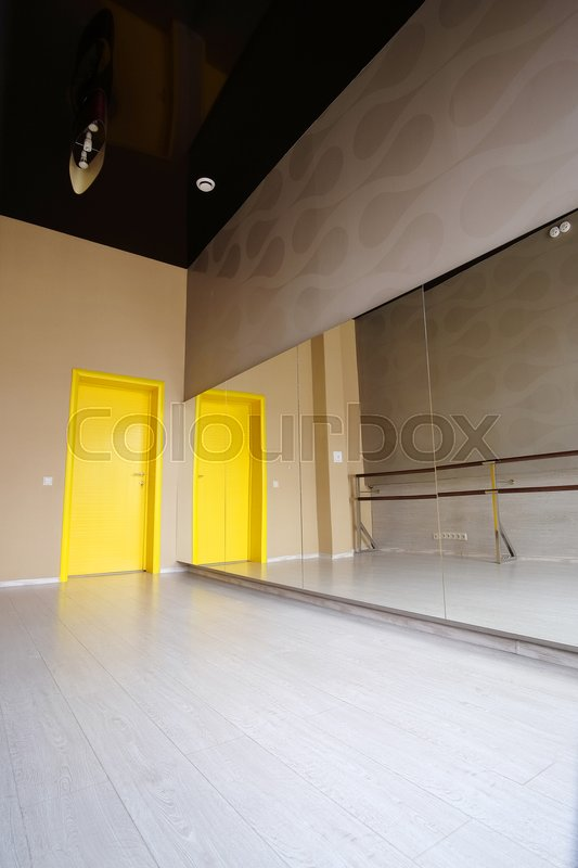 Stock image of 'Interior of a dance hall'