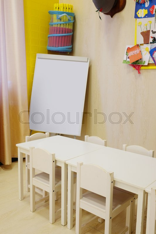 Stock image of 'Interior of a children room'