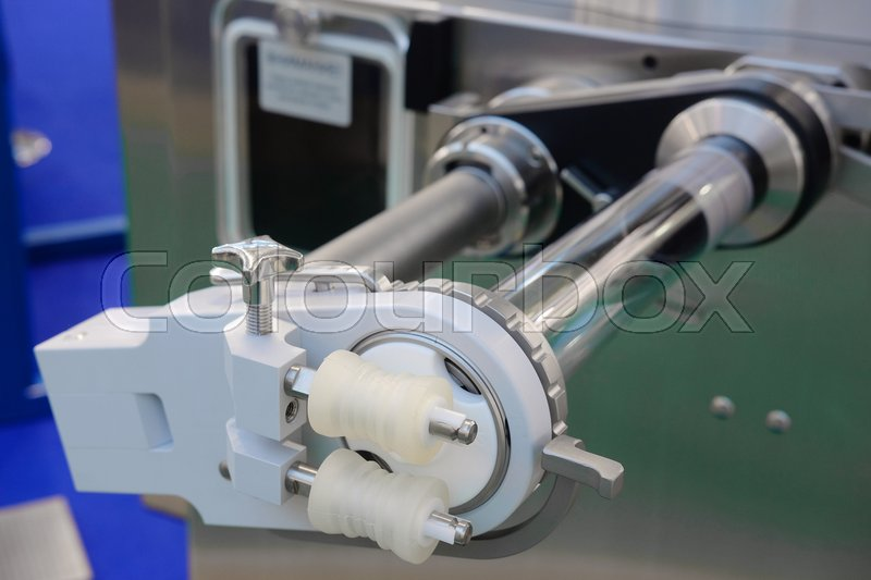 Stock image of 'Equipment of a food factory'