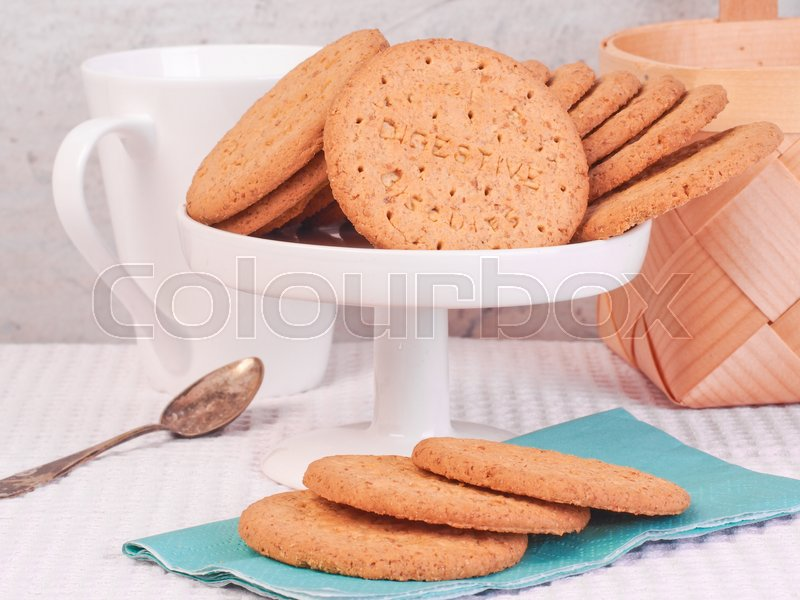 Stock image of 'Delicious Biscuit'