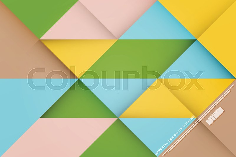 abstract colorful background with triangular frames vector