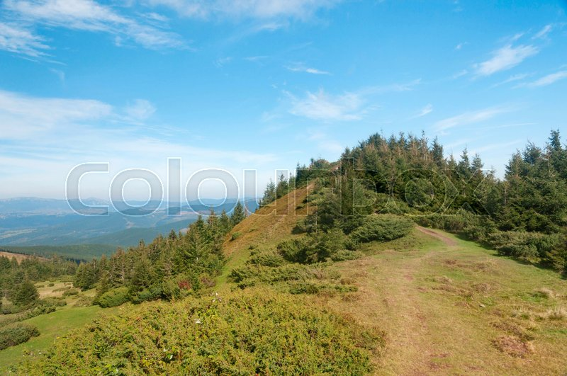 Stock image of 'Carpathian autumn mountains landscape. Natural landscapes of Ukraine.'