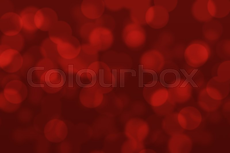 Stock image of 'Abstract circular dark red bokeh background'
