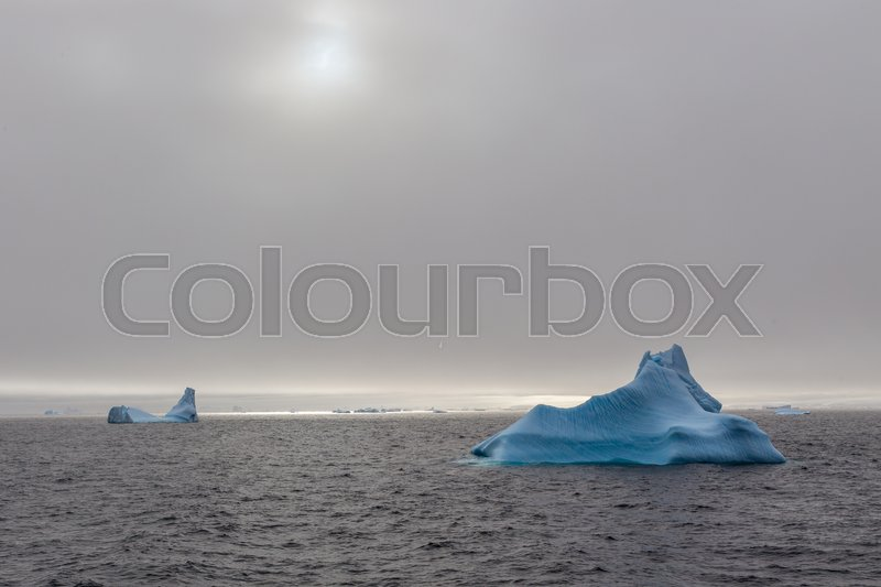 Stock image of 'Iceberg drifting at Lemaire Channel, Antarctica'
